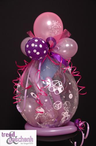 Baby geschenke im ballon