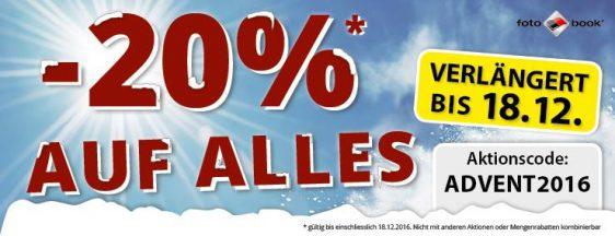 20% Online-Rabatt