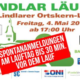 """""""Lindlar läuft"""" geänderte Öffnungszeiten & Fotos"""