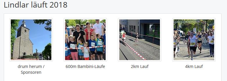 """Fotos """"Lindlar läuft 2018"""""""