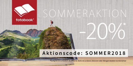 20% Sommeraktion – Jetzt wirds richtig heissss in unserem Onlineshop fotolio.de