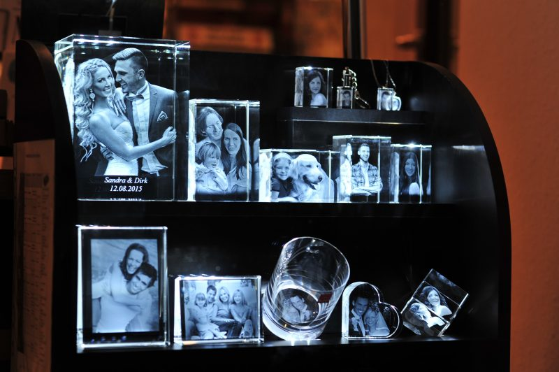 Dein schönstes Foto als beeindruckender 3D-Glasfoto-Block – ein besonderes Weihnachtsgeschenk