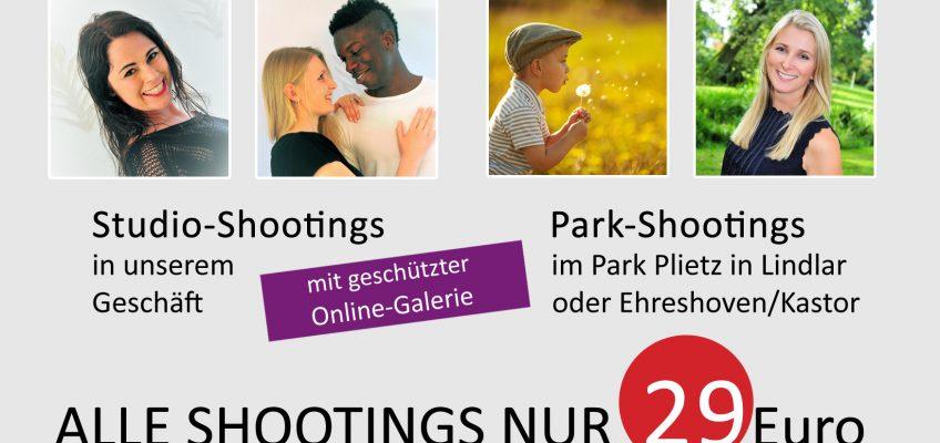 Jetzt Fototermin sichern! Porträtfoto als Weihnachtsgeschenk 29,-Euro