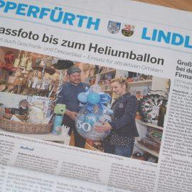"""Die """"Bergische Landeszeitung"""" berichtet über unser Geschäft"""