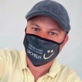 Mund-Nasen-Schutz mit individuellem Druck