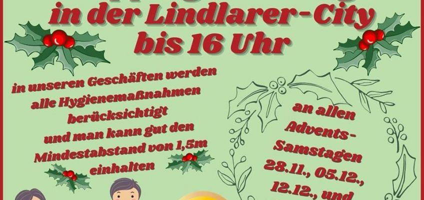 Lange Samstage: im Advent bis 16 Uhr geöffnet