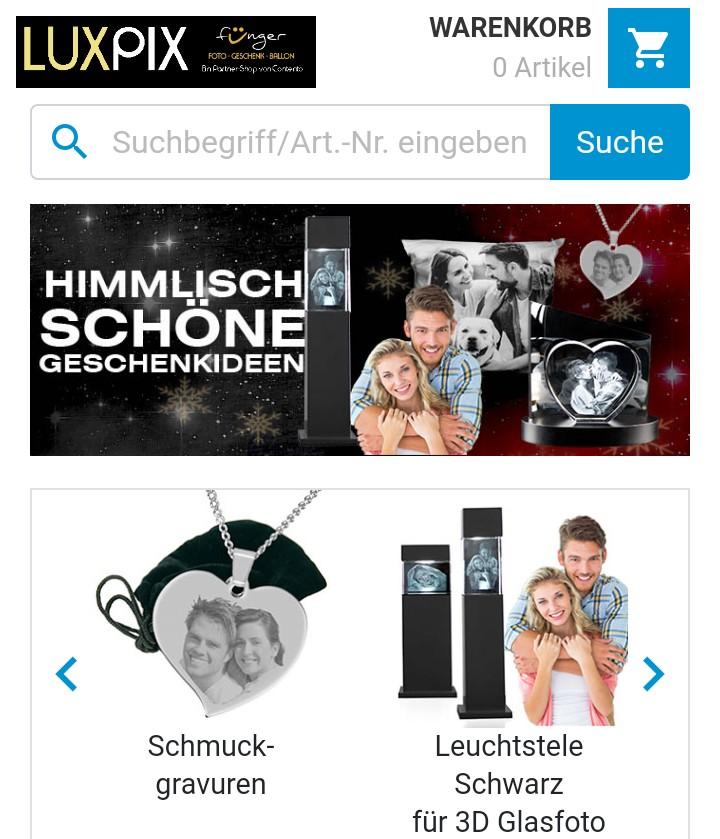 LuxPix.de unser neuer Onlineshop für hochwertige Fotogeschenk-Ideen