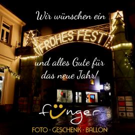 Wir wünschen Ihnen ein FROHES FEST