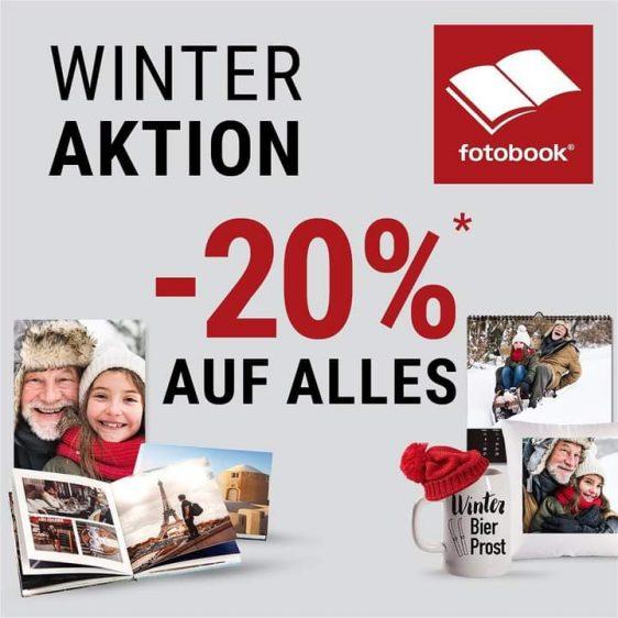 20% Winterrabatt in unserem Onlineshop