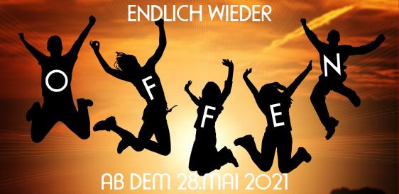 ENDLICH WIEDER NORMAL GEÖFFNET!