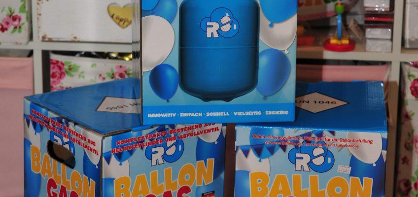 Jetzt wieder vorrätig: Einweg Ballongas-Flaschen zum selbst Befüllen
