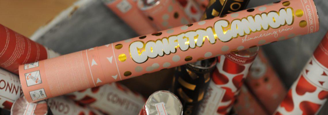 Konfetti statt Böller – dieses Jahr einfach mal was anderes zu Silvester? Jetzt bei fünger